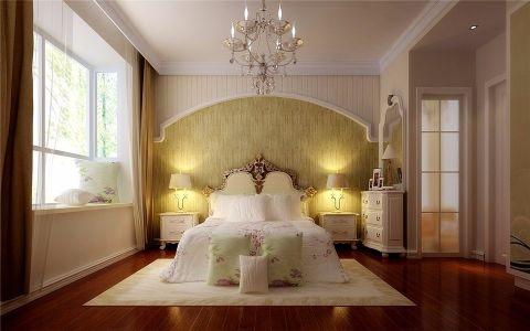 卧室吊顶欧式田园风格装饰图片
