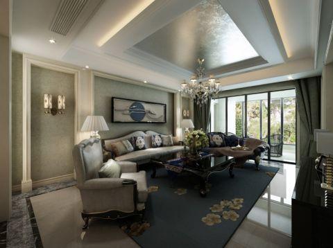 欧式风格175平米大户型新房装修效果图