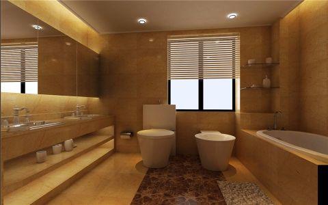 卫生间窗帘简约风格装修图片
