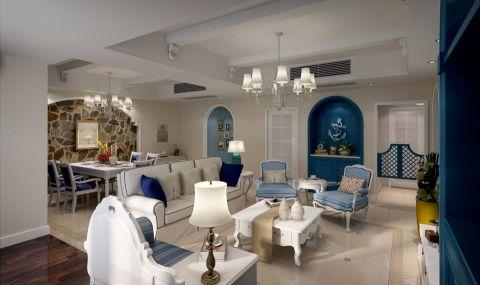 13.1万预算120平米三室两厅装修效果图