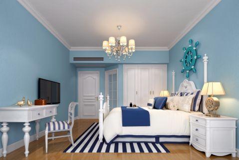 卧室吊顶地中海风格效果图
