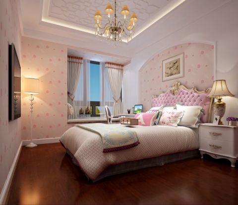 卧室飘窗欧式风格装饰效果图