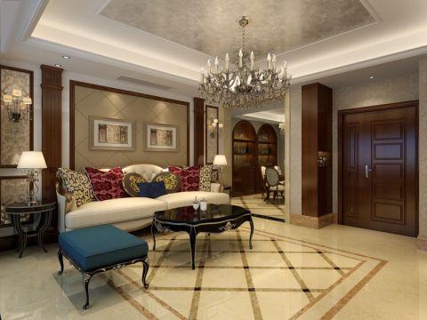 欧式风格197平米大户型室内装修效果图