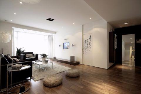 客厅茶几现代简约风格装修设计图片