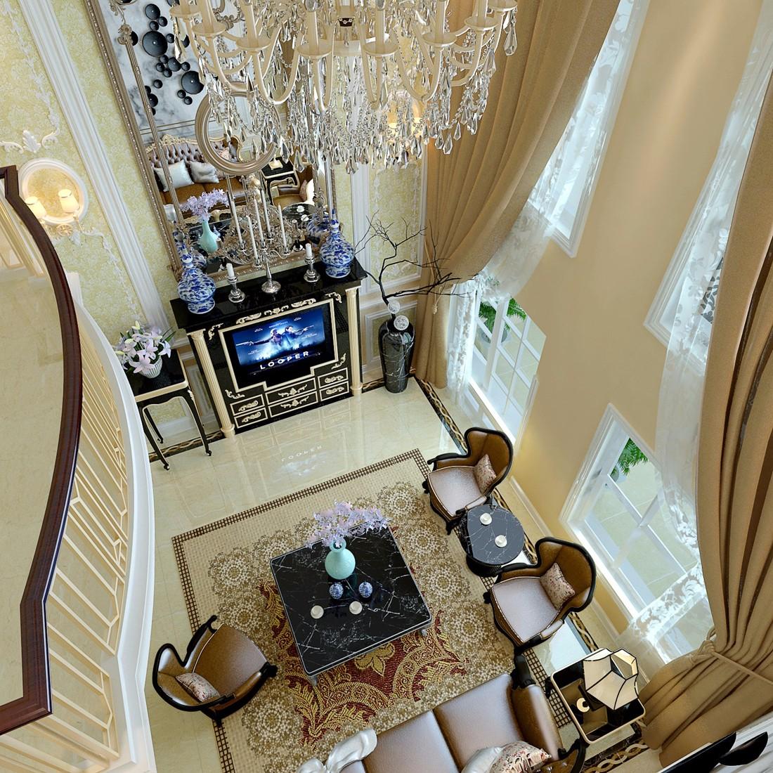 3室2卫2厅315平米欧式风格