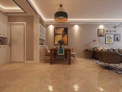 现代简约风格100平米套房新房装修效果图