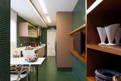 厨房餐桌现代简约风格效果图