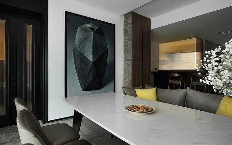 餐厅餐桌简约风格装潢图片