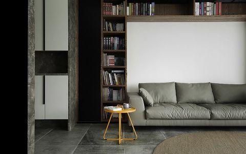 客厅博古架简约风格装修设计图片