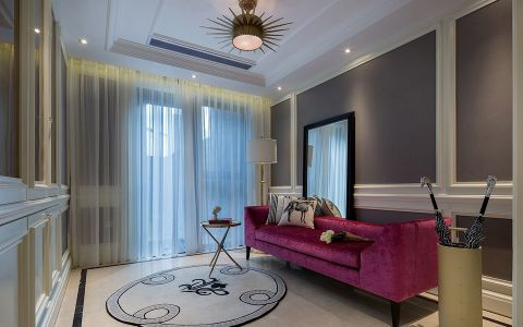 混搭风格180平米楼房室内装修效果图