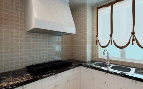 厨房背景墙简欧风格装修效果图