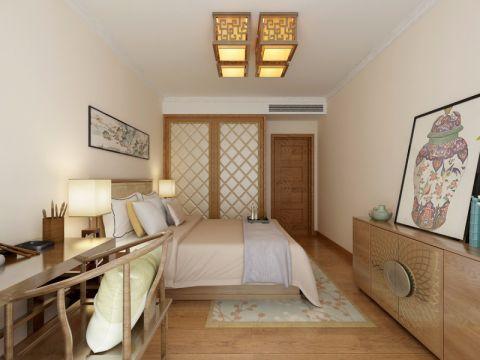 卧室吊顶新中式风格装饰图片