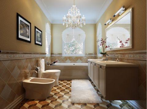 卫生间吊顶简欧风格装修图片