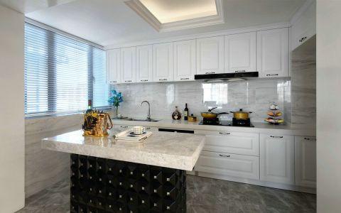 厨房橱柜新古典风格装饰效果图