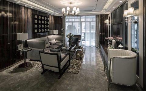 简欧风格120平米四室两厅新房装修效果图