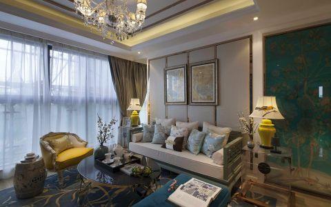 混搭风格160平米四室两厅新房装修效果图