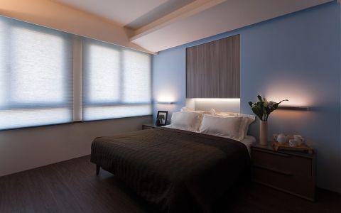 卧室窗帘现代风格装饰效果图