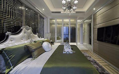 卧室床简欧风格装潢图片