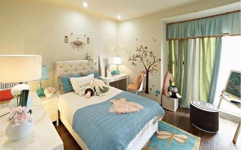 儿童房窗帘现代风格装饰图片