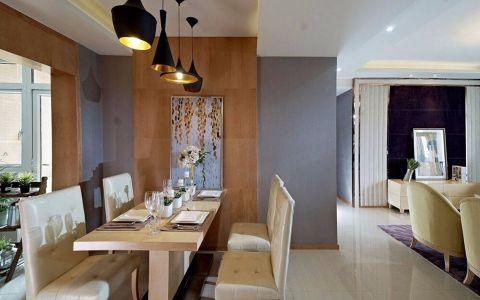 餐厅餐桌现代风格装潢图片