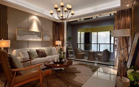 现代风格118平米两室两厅新房装修效果图