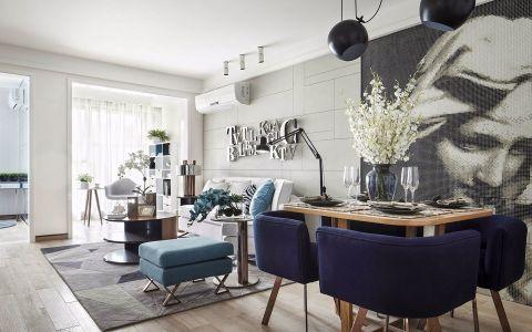 新古典风格128平米两居室室内装修效果图