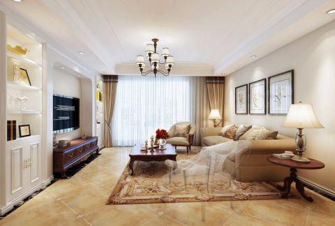 简约风格180平米三室两厅新房装修效果图