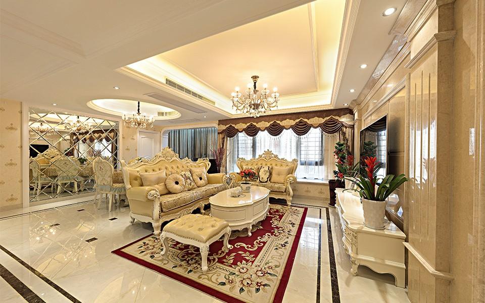 4室2卫2厅136平米简欧风格