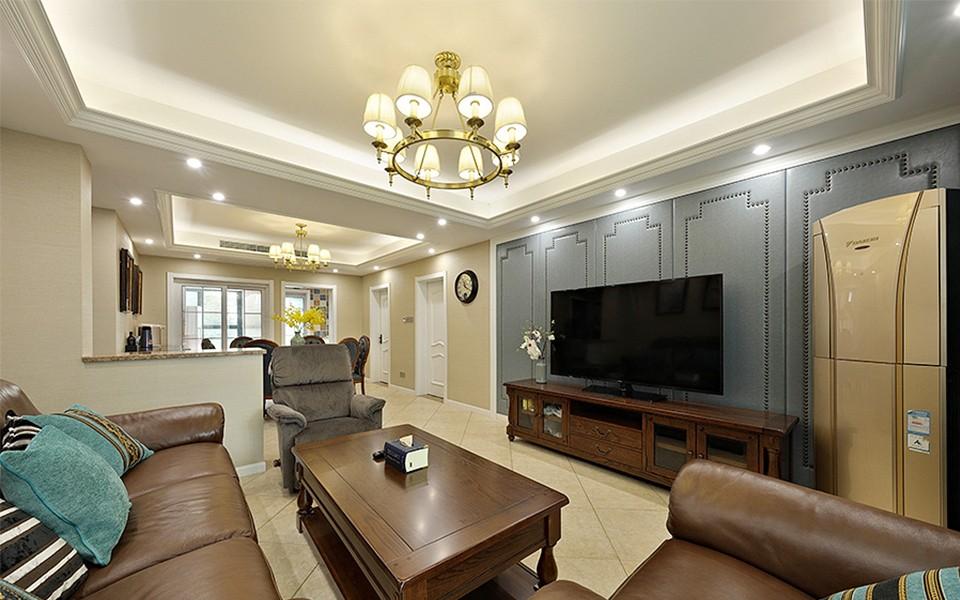 3室1卫2厅130平米美式风格