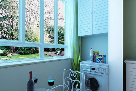 阳台窗台现代简约风格装潢设计图片
