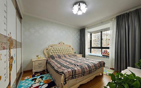 儿童房吊顶简欧风格装修设计图片