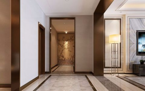 玄关走廊现代中式风格装修图片