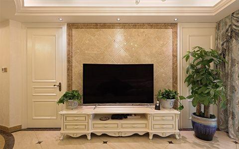 客厅电视柜现代欧式风格装修图片
