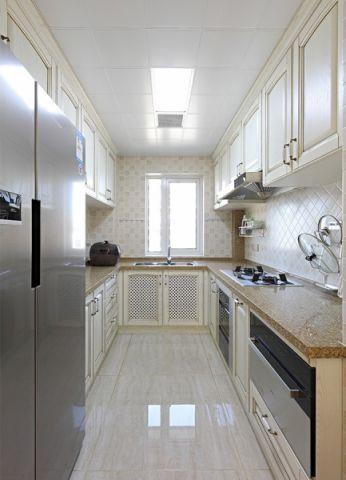 厨房现代欧式风格装潢图片