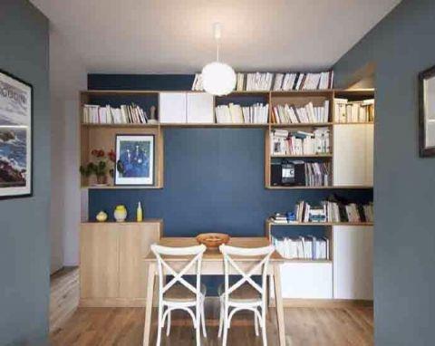 餐厅背景墙现代简约风格装修图片
