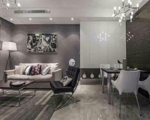 简约风格90平米两室两厅新房装修效果图