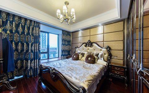 卧室窗帘新古典风格效果图