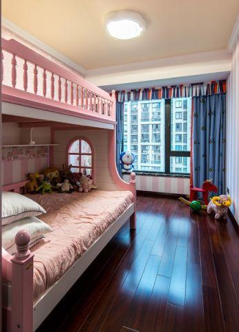 儿童房床新古典风格装饰效果图
