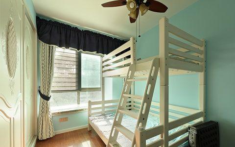儿童房床美式风格装饰设计图片