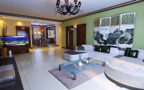 现代风格135平米套房室内装修效果图