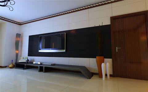 客厅电视柜现代风格装饰图片