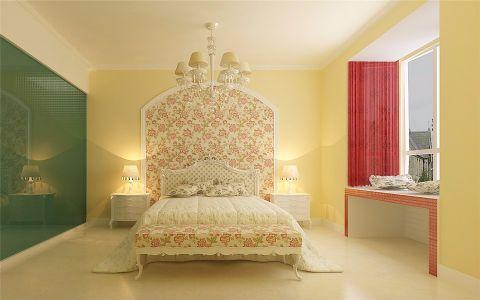卧室吊顶欧式田园风格装饰设计图片