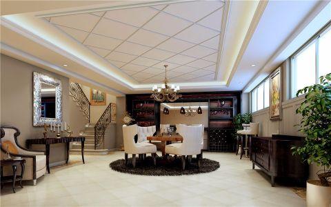 简欧风格125平米套房室内装修效果图