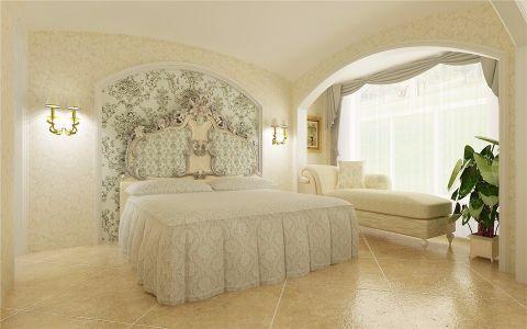 卧室床混搭风格装修图片