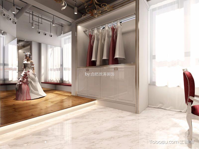欧式风格婚纱摄影社衣柜装潢图片欣赏