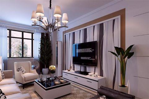 客厅茶几现代简约风格装修效果图