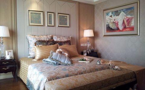 卧室照片墙简欧风格装修图片