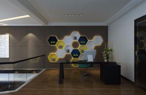 书房地板砖现代风格装潢图片