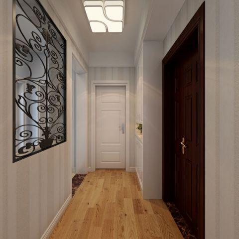 玄关走廊北欧风格效果图