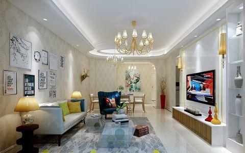 客厅简欧风格装饰图片